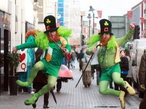 Mayor of Limerick John Gilligan announced that 26 year old bubbly children's TV Presenter Emma O'Driscoll is to lead Limericks Saint Patricks Day. The theme of the Saint Patricks Day parade is Go Green and festival organisers are hoping that a spectacle of colour and sound will fill the streets of Limerick. Picture Seán Curtin Press 22.