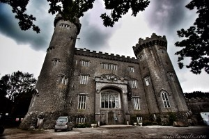 Haunted irish castle