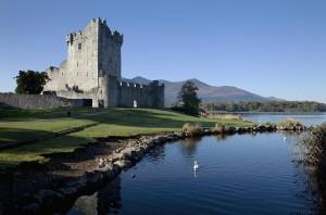 Haunted castle in Ireland