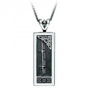 IJBR00101S-irish-necklace-personalized-ogham-silver-celtic-pendant