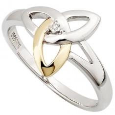 s2977-irish-gold-silver-ladies-solvar-trinity-knot-diamond-ring