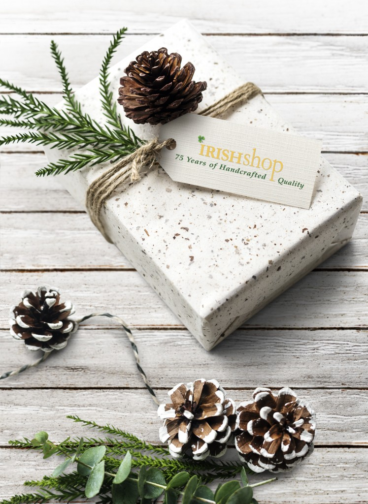 Irish Christmas holiday greeting