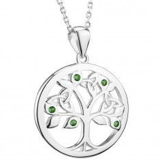 ijsv46473-irish-necklace-silver-green-crystal-celtic-tree-of-life-pendant