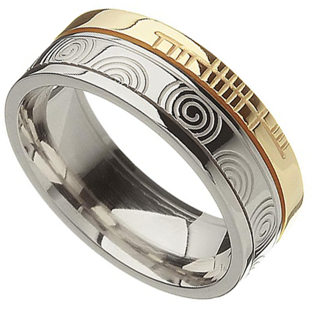 br6mx-irish-ring-silver-10k-gold-ogham-newgrange-spiral-celtic-wedding-ring