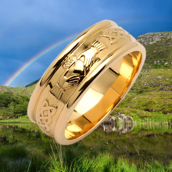 Irish Gold Ring
