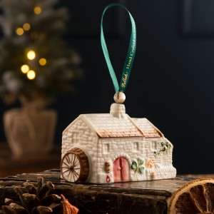 Belleek Pottery - Irish Christmas Decoration