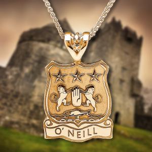 Personalized Irish Jewelry - Irish Coat of Arms