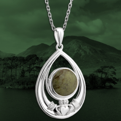 Connemara Marble Irish Jewelry: A Green Gem from the West of Ireland