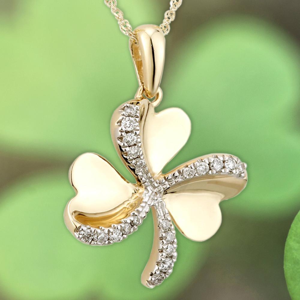 How to celebrate and mark this year's St. Patrick's Day - Irish Jewelry Shamrock