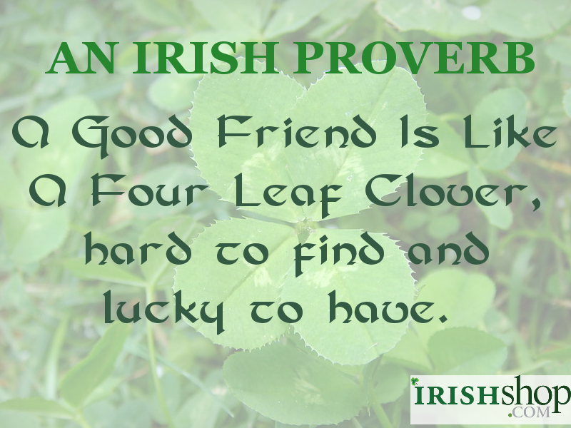 Irish Quotes About Friendship Adorable Irish Sayings For Friendship Irish Proverbs Greatest Quotes
