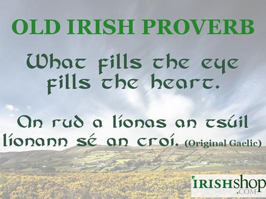 Old Irish Proverb 26