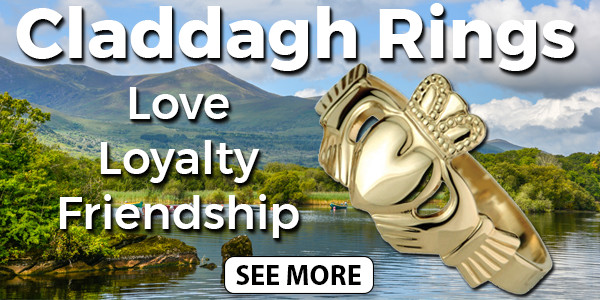 Shop Our Irish Claddagh Ring Collection