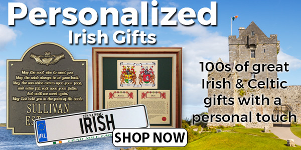 Shop Our Collection of Personalized Irish Gifts