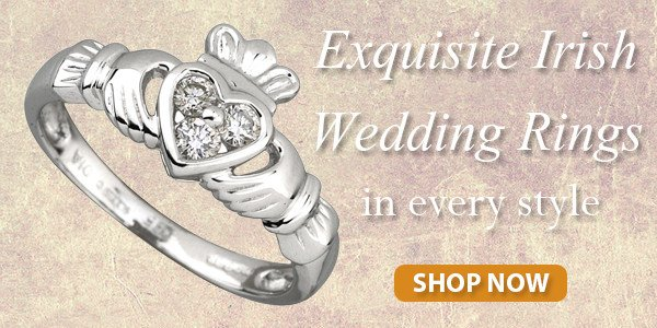 Exquisite Irish wedding rings in every style