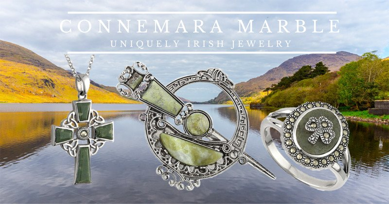 Connemara Marble Uniquely Irish Jewelry