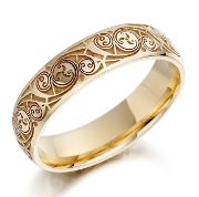 Irish Wedding Rings for Him Her Irish Wedding Bands