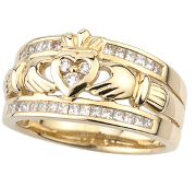 irish wedding rings and bands - Irish Wedding Ring