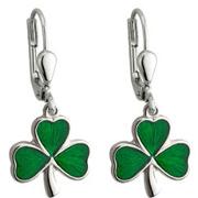Celtic Earrings Claddagh Trinity Knot Shamrock