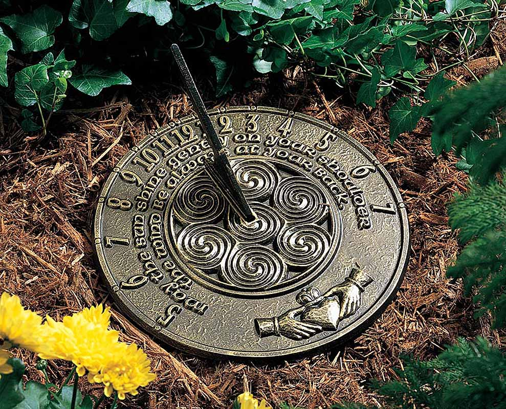 Irish Blessings Sundial