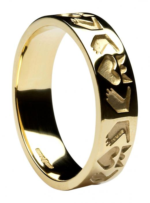 Claddagh Ring - Men's Friendship Claddagh