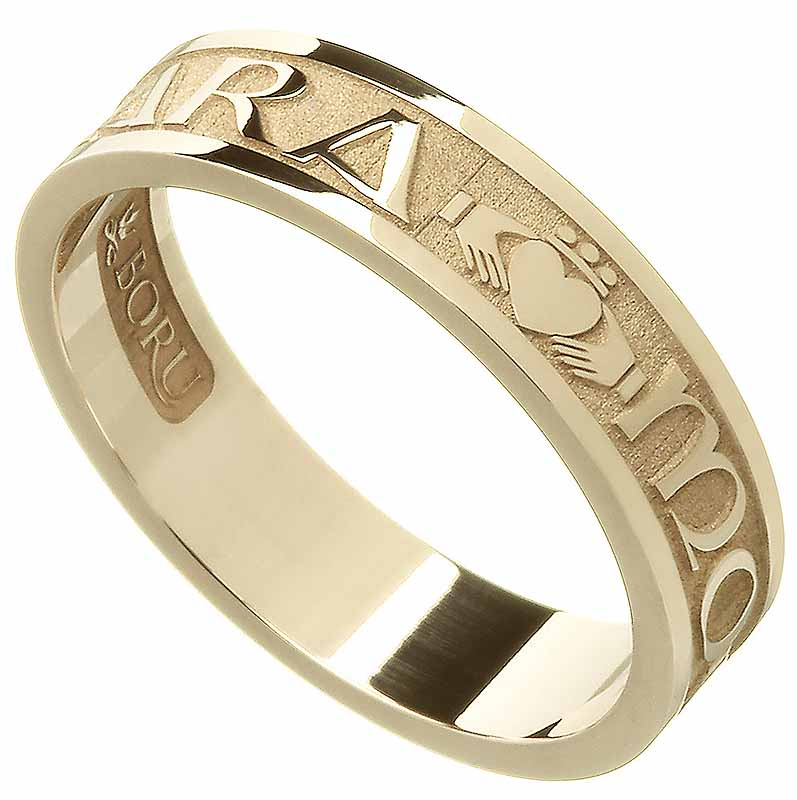 "SALE | Irish Rings - Ladies Gold Mo Anam Cara ""My Soul Mate"" Ring"