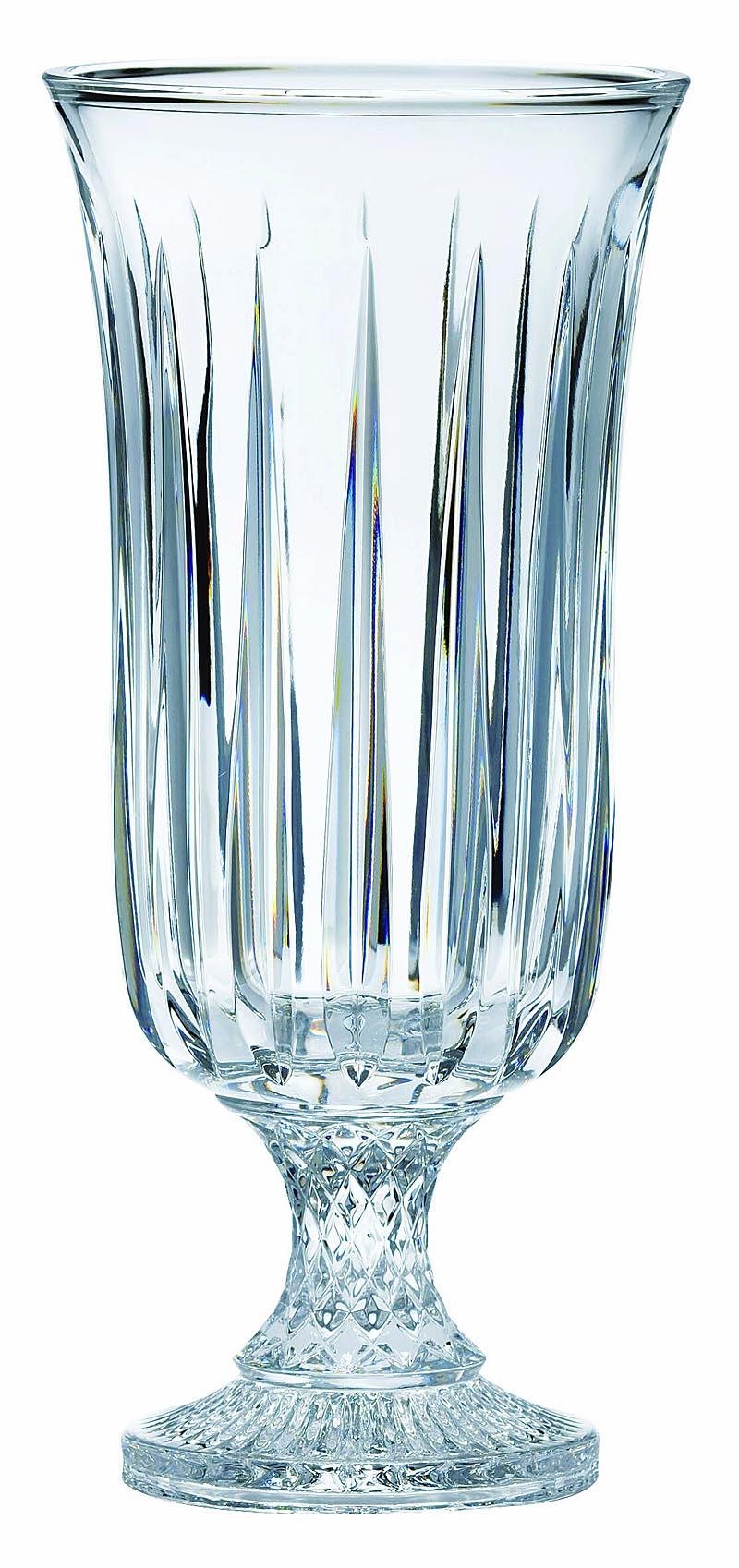 Galway Crystal Wall Lights : Galway Crystal Clara 14 Footed Vase at IrishShop.com BLK21814