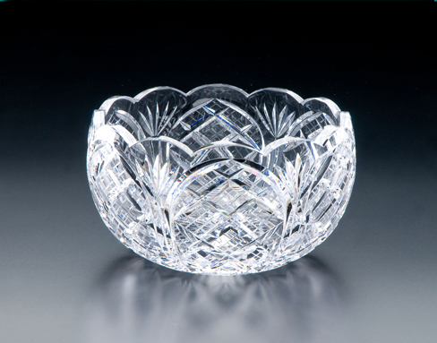 Irish Crystal - Heritage Irish Crystal 9 inch Cathedral Scalloped Bowl