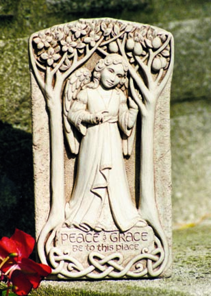 Peace & Grace Celtic Stone