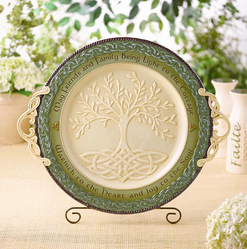 Irish Kitchen Celtic Tree Of Life Platter At Irishshop