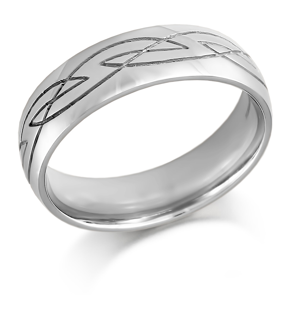 Celtic wedding ring mens celtic design irish wedding for Mens irish wedding rings