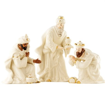Irish Christmas - Belleek Classic Nativity - Three Kings Set