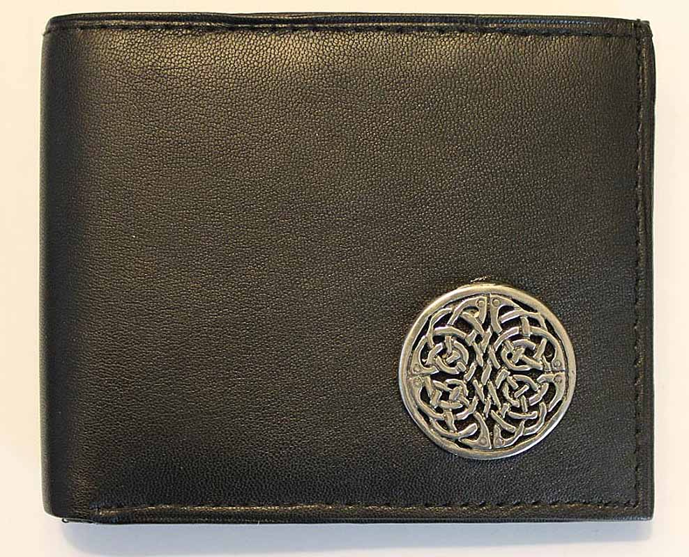 Irish Wallet - Brigid Knot Leather Wallet