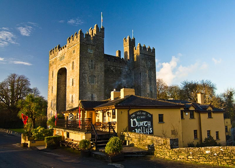 Bunratty Castle And Durty Nellies Photographic Print At