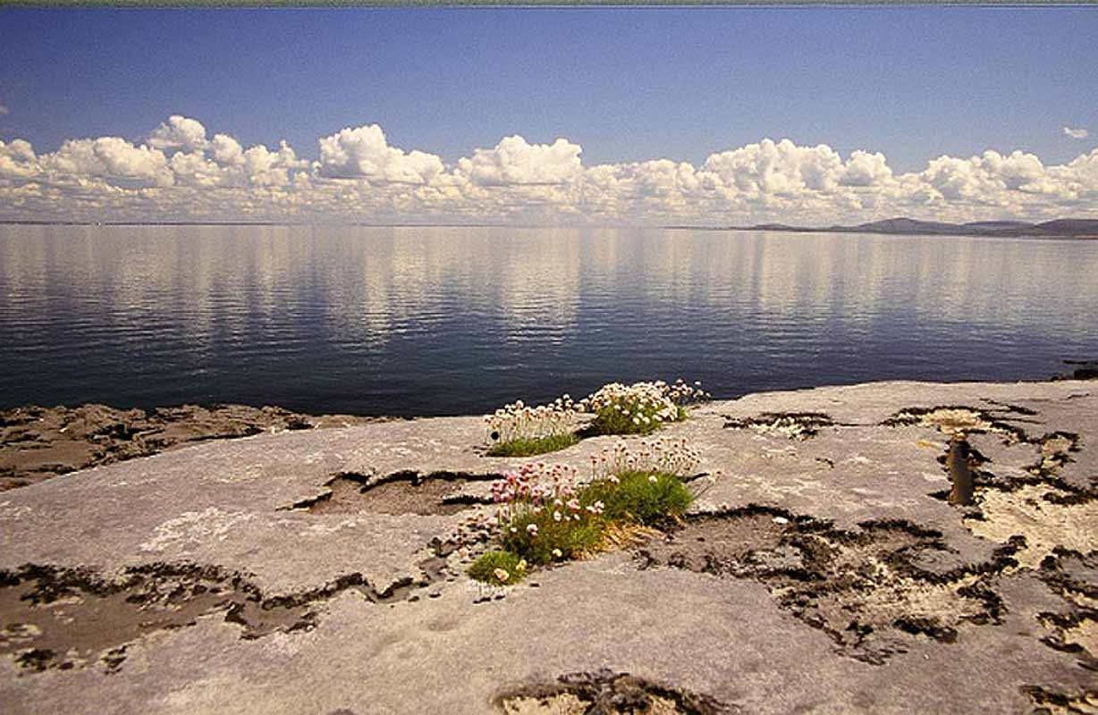 Burren at Galway Bay Photographic Print