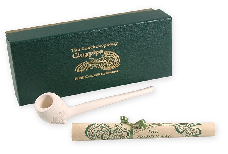 Traditional Irish Clay Pipe