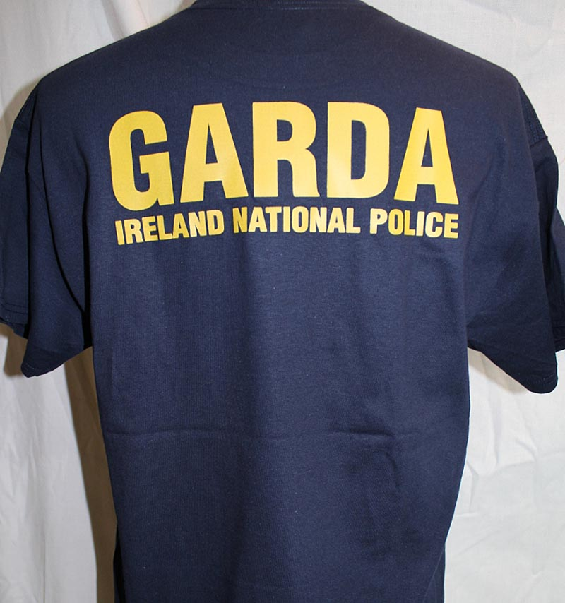 Irish Police: Garda Irish Police T-Shirt At IrishShop