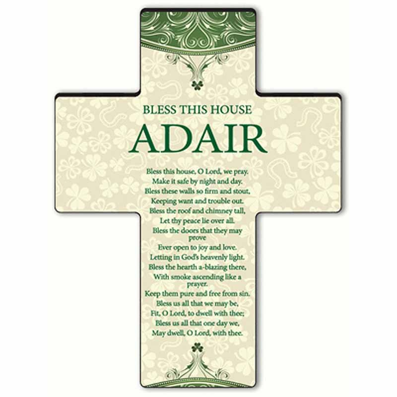 Personalized Classic Irish Cross - Bless This House