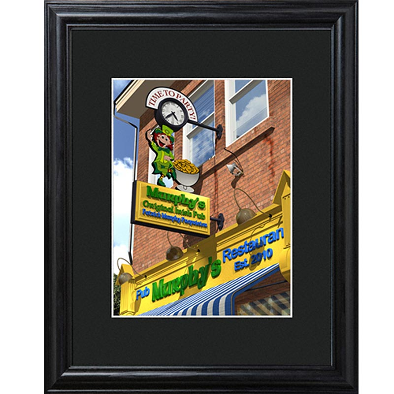 Personalized Time to Party Irish Pub Sign
