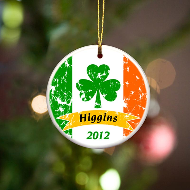 Irish Christmas Ornaments
