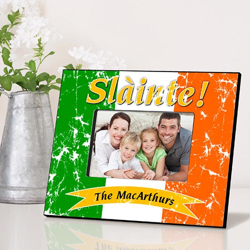 Personalized Irish Picture Frames - Pride of the Irish