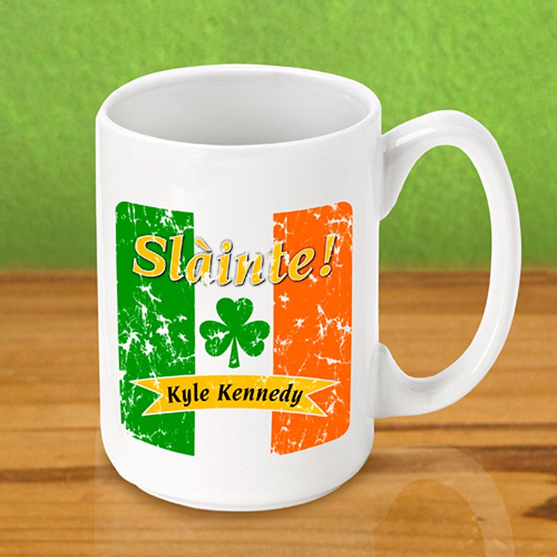 Personalized Irish Coffee Mug - Irish Pride