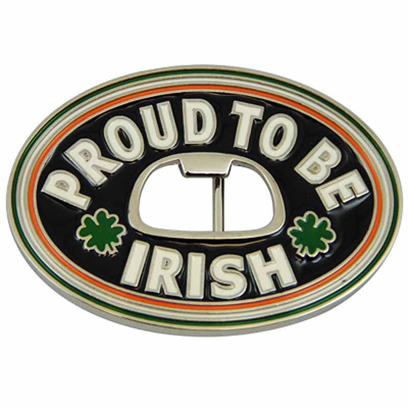 Proud To Be Irish Belt Buckle