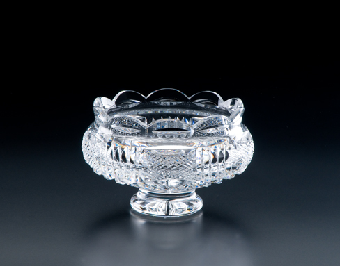 Irish Crystal - Heritage Irish  Crystal 7 inch Georgian Footed Bowl