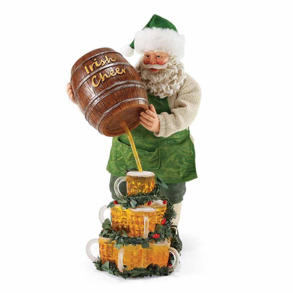 Irish Christmas - The Perfect Pour Santa at IrishShop.com | HMBE10186