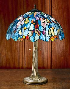 Fairy Pool Stained Glass Table Lamp