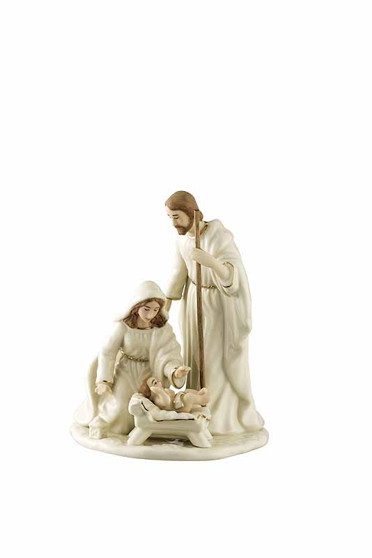 Irish Christmas - Belleek Nativity Family - Small