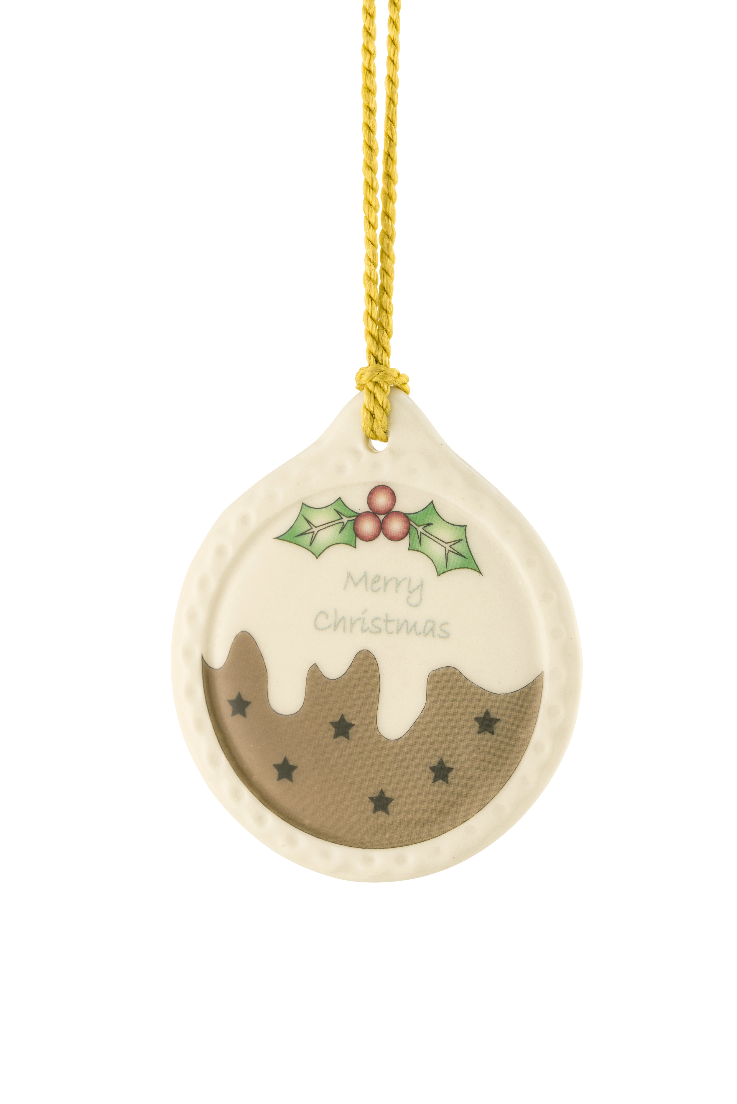 Quick View for Irish Christmas - Belleek Plum Pudding Ornament