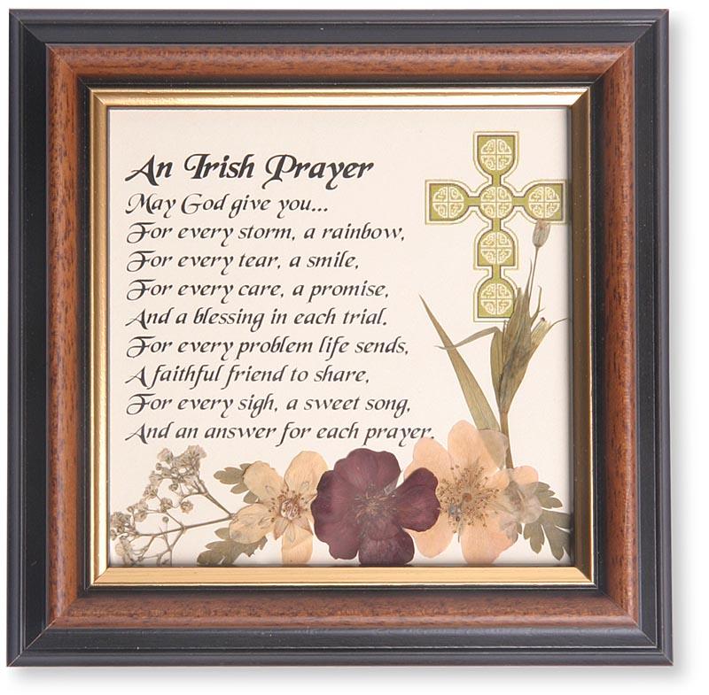 An Irish Prayer Framed Print at IrishShop com | WICC56