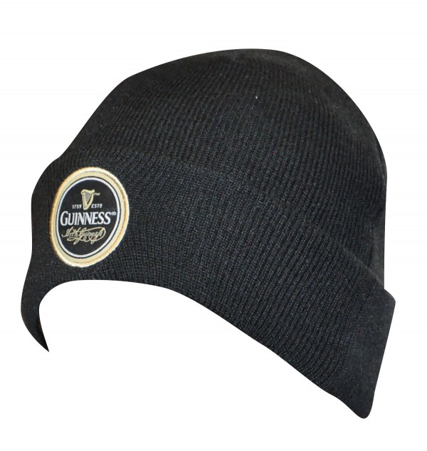 Guinness Classic Black Label Beanie Hat