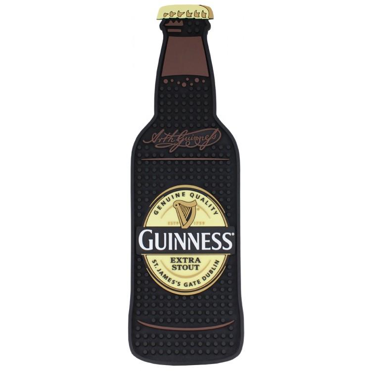 Guinness Bottle Shape PVC Bar Mat at IrishShop.com ...